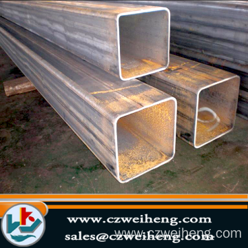 Q235B STEEL PROPERTIES GALVANIZED SQUARE STEEL PIPE