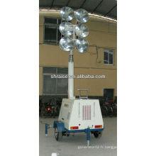 6 lampes montées sur le véhicule tour de lumière RZZM-42G