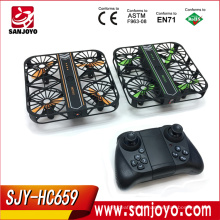 2018 Original Toy Mini Frame RC Drone With Wifi 2MP Camera RTF Headless Height Set Quadcopter SJY-HC659