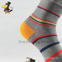 Popular Custom Stripes Man Cotton Socks