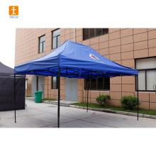 Publicité personnalisée de tente à baldaquin