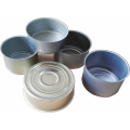 307D round wholesale 2 pieces metal tuna tinplate food grade cans fish tin can