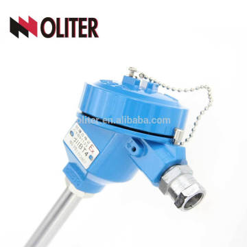 duplex/simplex durable assembly rtd pt100 sensor mi spring loaded cast aluminium egt thermocouple k n