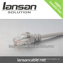 utp cat5e network cable BC 26AWG patch cable with fluke channel test passed already