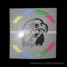 Logotipo del vinilo de la transferencia de calor del color del reflejo / marca para la ropa, camiseta, ropa