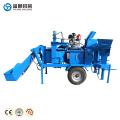 Precio de la máquina de fabricación de ladrillos de barro de la tierra comprimida M7MI TWIN móvil en la India