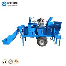 M7MI TWIN hydraform beweglicher hydraulischer ineinandergreifender Bodenzement-Ziegelstein, der Maschine herstellt