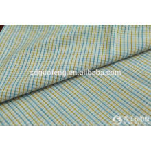 Venta caliente de moda 100% algodón hilado teñido de tela