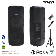 Plastic Dual 15 Inches Loudspeaker for Model THZ215UB