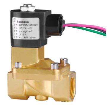 Low Power -- Air Inert Gas Solenoid Valve
