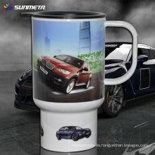 Taza de la sublimación de Sunmeta tazas del coche