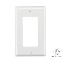 10 Years manufacturer for Metal Screwless Coaxial Wall Plate Gfci Electrical Household Wall  Cover  Plate supply to Heard and Mc Donald Islands Importers