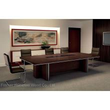 Mesa de reunião de escritório Mesa de conferência de madeira de móveis (HF-Ltd110)