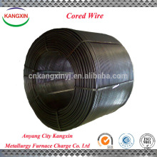 Metallurgy of casi cored wire