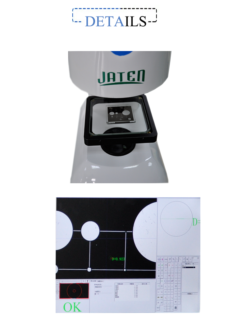 3d Vision Measurement Machine