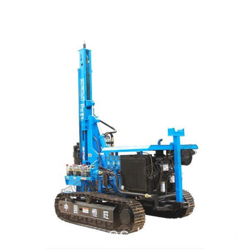 Martillo hidráulico pila Piller Solar Ramming Piling Machine