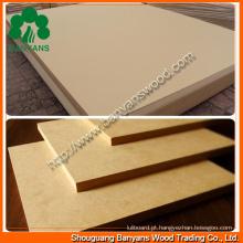 Placas MDF / Raw MDF / Plain MDF / melamina MDF
