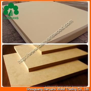 MDF Boards/Raw MDF/Plain MDF/Melamine MDF