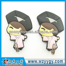 Promotional 3D wall adhesive soft pvc hook
