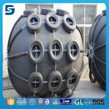 Dispositivo anticolisão principal do pára-choque de borracha pneumático para a aplicação marinha
