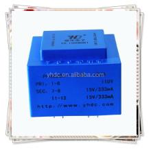 PCB MOUNTING ENCAPSULATED 12VA MINI Transformer 220v 12v