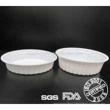 FDA certified creative-designed white PP thermoforming Food graded disposable plastic Container