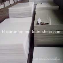 Reine Polypropylen PP Kunststoffplatte mit 2-30mm Dicke