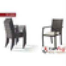 Marco de aluminio de Polyrattan muebles al aire libre fabricante silla de mimbre al aire libre