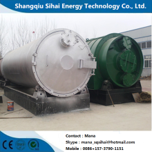 Óleo combustível de pirólise de resíduos de máquina automática de patentes nacionais