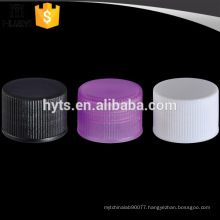20/410 China manufacturers custom screw thread plastic bottle cover