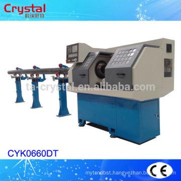 large bore machine cnc pipe thread lathe machine PVC/PE CYK0660DT