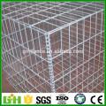 Boîte en gabion soudée galvanisée à chaud, 2016, haute qualité, usine, mur de soutènement en pierre, châssis gabion