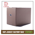 Factory OEM disposable custom square soft toy packaging box