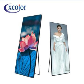 P2 Small Pitch Standing Poster Led Screen Display