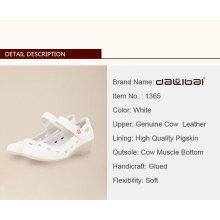 Enfermeira Sapatos de hospital de couro obstruem Preço de fábrica