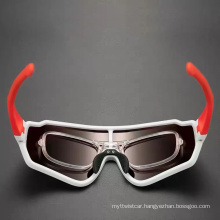 Bicycle Riding Goggles for Running Outdoor Sports Polarized Windproof and Insect-Proof Riding Goggles for Men and Women
