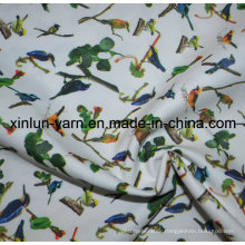 Polyester Satin Printed Dyed Fabric for Kids Bed Sheet Textile