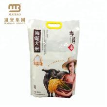 La conception faite sur commande a imprimé la taille différente 1kg 2kg 5kg 10kg des sacs d'emballage de riz à vendre