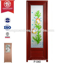 China Wholesale Custom PVC Plastic Shower Doors, with Forested Glass