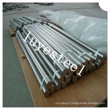 Barre polie ronde en acier inoxydable