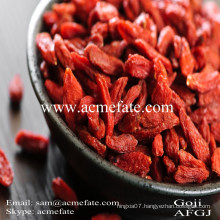 top quality new crop ningxia chinese certified goji berry
