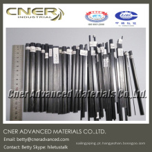 Barra / haste de fibra de carbono de pultrusão, com diferentes formas e tamanhos disponíveis