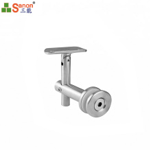Stainless Steel Decorative Round Glass Fasteners