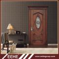 Best italian wood door design double solid wood carving main door