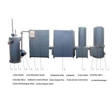 Wood pellet chips gasifier/gasification system