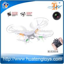 ¡Nueva llegada 2014! 2.4GHz 6 Eje 4CH control remoto helicóptero Exploradores rc quadcopter con cámara HD Video
