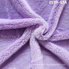 PV Plush/ Polyboa / Tricot Velboa / Warp Knit Boa Esth-57A