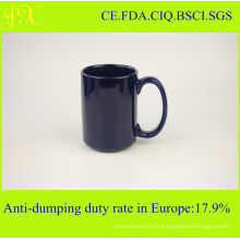 Directorio de fábrica Venta al por mayor taza de cerámica de esmalte con mango para el café