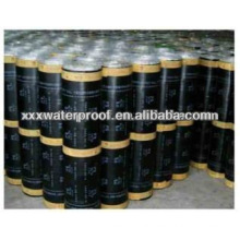 Polymer modified asphalt waterproof coiled material