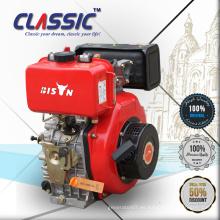 4HP motor diesel silencioso portable 170F del cilindro para el Rammer para la venta, solo motor diesel de la bomba de la inyección de combustible del cilindro